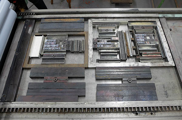 Letterpress printing is so much fun!