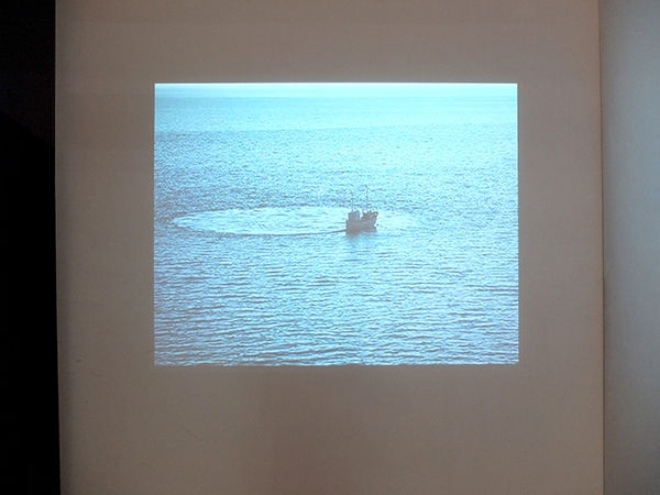 Gunnar Jonson asked an Icelandic fisherman to create this never ending journey.